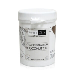 250g Organic Extra Virgin Coconut Oil - 100% Pure, Raw & Cold Pressed