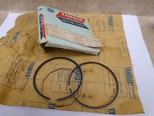 Yamaha 175 DT175- A B TY175 New OEM 4TH Oversize 1.00 Piston Ring 1974 1975#