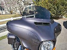 """Harley Davidson 10"""" dark tint windshield Street Glide/Electra Glide 2014-2018"""