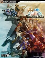 Final Fantasy Tactics The  of the Lions Official Strategy Guide BradyGames Of...
