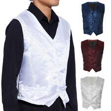 Polyester Paisley Regular Size L Vests for Men