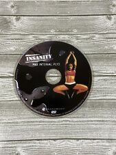 Insanity Max Interval Plyo Plyometrics Replacement Home Workout FitnessDisc Only