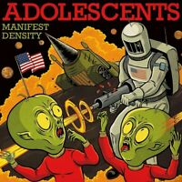 ADOLESCENTS - MANIFEST DENSITY VINYL LP NEU