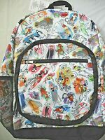 Disney Parks INK and PAINT Characters Adult Backpack Brer Rabbit & Fox New