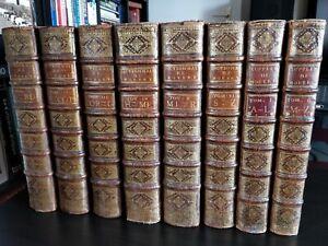 Grand Dictionnaire de L. Moreri 1732 Paris (6 vol)  + Suppléments 1735 (2 vol)