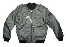 DIESEL J-ZEALAND JACKET OLIVE GREEN SIZE S 100% AUTHENTIC