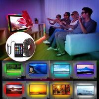 LED Strip Lights Sync To USB 5050 Flexible RGB LED Strip Light Music IR controll
