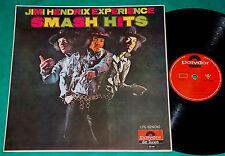 Jimi Hendrix - Smash Hits BRAZIL 1st press MONO LP 1968 Polydor
