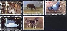 Kosovo Stamps 2006. Fauna: Pigeon, Swan, Birds, Dog, Wolf, Cow. Set MNH