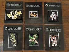 THE ORCHID DIGEST 6 VOLS 1978
