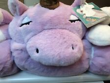 "FROLICS Kids Collection LILAC UNICORN Plush Sleeping Bag 29"" X 68"" Purple White"