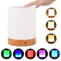 7 couleurs nouvelle lampe de chevet rechargeable table de veilleuse blanche c LB