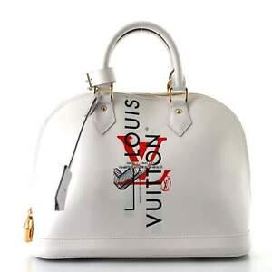 Louis Vuitton Alma Handbag Limited Edition Mars Smooth Epi Leather PM