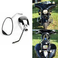 Chrome Custom Rearview Side Mirrors 10mm For Suzuki Intruder 700 VS700 1400 1500