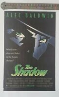 The Shadow Alex Baldwin RARE Print Advertisement