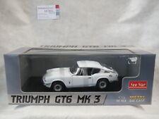 Triumph GT6 MK 3 Weiß white 1:18 Sun Star