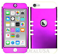 For Apple iPod Touch iTouch 5 6 - KoolKase Hybrid Silicone Cover Case PURPLE (R)