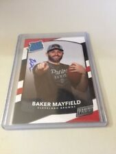 2018 Panini National VIP Baker Mayfield Rated Rookie On Card Auto Autograph SP?