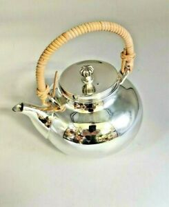 Newport by Gorham Vintage Silverplate Teapot YB89 (CT)