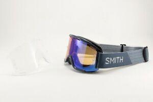 Smith Squad MTB/Bike Goggles Iron, ChromaPop Contrast Rose Lens + Bonus Lens New