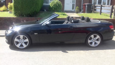 bmw 2008 convertible 3 series 2.0 petrol black hard roof  86000 miles 1 year MOT