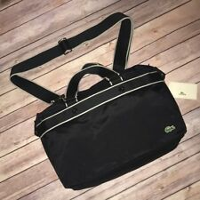 LACOSTE Business Style Laptop Document Bag City Casual Black