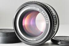 [MINT!!] Nikon 50mm F1.4 Ai-S AIS MF Standard Lens With F/R Caps Ship from JAPAN