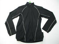 COLUMBIA Lightweight Jacket Women's Size S Active Hiking TITANIUM Full Zip Black