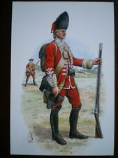 POSTCARD 5TH NORTHUMBERLAND FUSILIER OF FOOT - PRIVATE - WIHELMSTAHI 1762 - WEAR