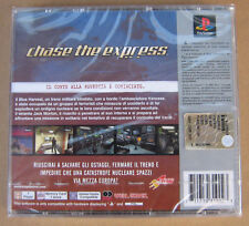 Videogame Platinum Chase the Express Playstation 1 PS1 PSX PSONE NEW & SEALED
