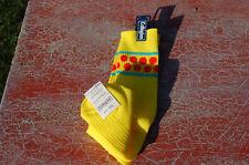 Chaussette vintage jaune à poids orange - 39/40 Collégien  - déguisement ---/B9/