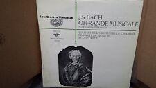 BACH - OFFRANDE MUSICALE BWV 1079 SOLISTES PRO ARTE LP VINYL VG+/EX EGR4001