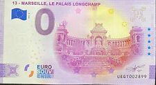 BILLET 0 EURO MARSEILLE LE PALAIS DE LONGCHAMP  ANNIVERSARY 2021  N° DIVERS