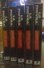 "4Videocassetta/VHS/Hobby Work "" LA PIOVRA 2/PARTI 1-2-3-4-5 "" VideoRai"