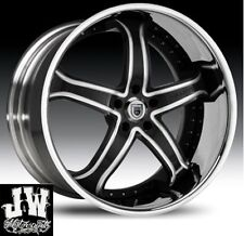 """24"""" INCH ASANTI AF165 WHEELS CHARGER GMC CHEVY 300"""