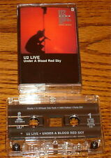 U2 UNDER A BLOOD RED SKY ORIGINAL CASSETTE