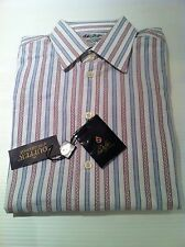 BNWT Duffer of St.George Long Sleeved Shirt In Blue Size M