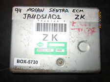 ^^ 1994 94 NISSAN SENTRA ECM #JA11D51AD2 ZK *see description*(BOX-5730)