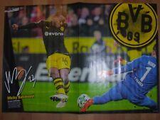 Poster  Michy Batshuayi/Max Kruse  aus der Bravo Sport  Gr. ca 40 cm x 28 cm
