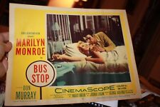 1956 Original Movie Lobby Card Bus Stop Marilyn Monroe 5