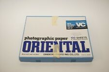 Vintage Oriental Seagull Select Photographic Paper Japan Open Box ~80 Sheets