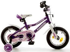 12,5 Zoll Kinderfahrrad Kawasaki Kuma Mädchen Bike Cruiser lila