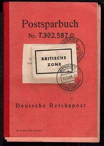 Postsparbuch aus der Übergangszeit : 1942 - 1949 (DR zu AmPost )