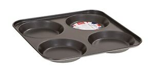 Premium Double Non Stick Coated Nonstick Yorkshire Pudding Tray Sheet Pan Tin UK