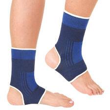 2Pcs  wickeln Fußgelenkbandage Knöchel elastische Schutz Sport Sleeve Set