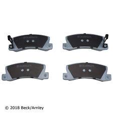 Disc Brake Pad Set Rear Beck/Arnley 085-1311