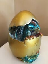 Dragon inside Egg LED light Changes Colours 6 inches x 4.25 inches New