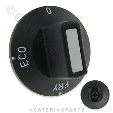 6331 VALENTINE FRYER BLACK ROUND CONTROL KNOB 0-FRY-ECO MELT SWITCH V SERIES
