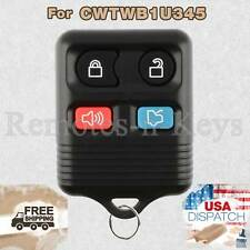 Car Key Fob Transmitter Alarm Remote Control for 2001-2012 Ford Escape 4b