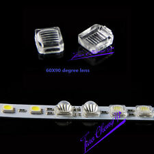 100PCS 60x90 degree lens streak for 5050 SMD LED WS2812, APA102, WS2811,SK6812.